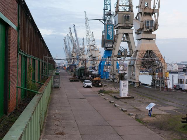 Hafenmuseum – Außengelände